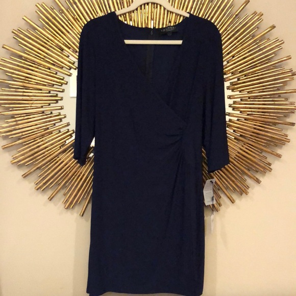 Laundry By Shelli Segal Dresses & Skirts - Laundry Navy Dress
